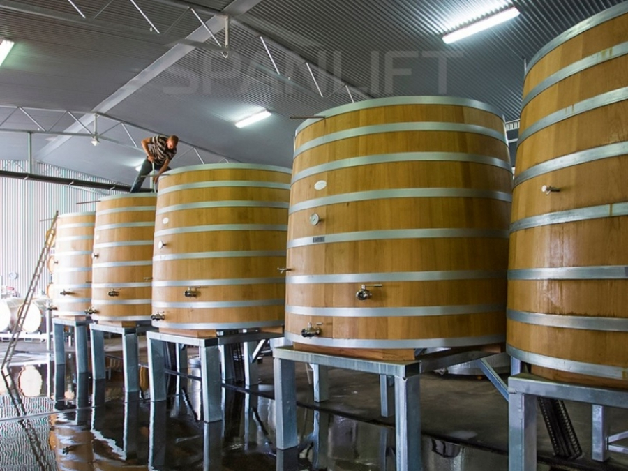 Barrel Store Winery 1 Spanlift k0ai8A