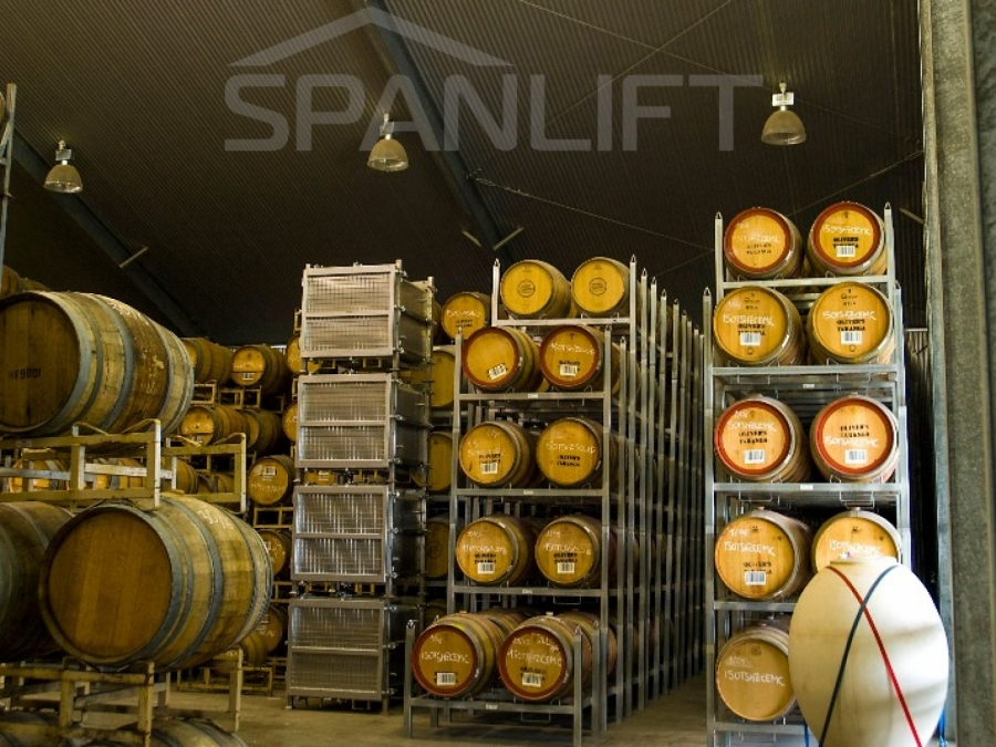 Barrel Store Winery 7 Spanlift pBVug0