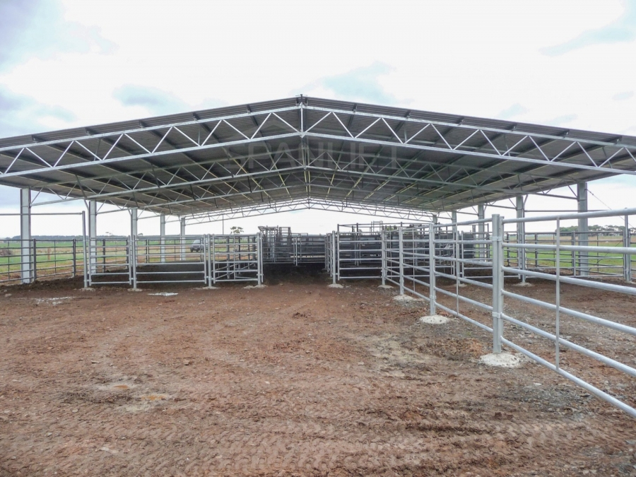 Beef Yard Cover 1 Spanlift Qfa48c - Gallery