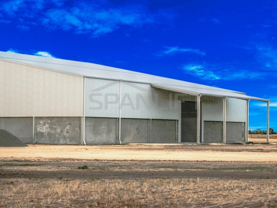 Bulk Storage Grain Shed 1a Spanlift 8P5AxC