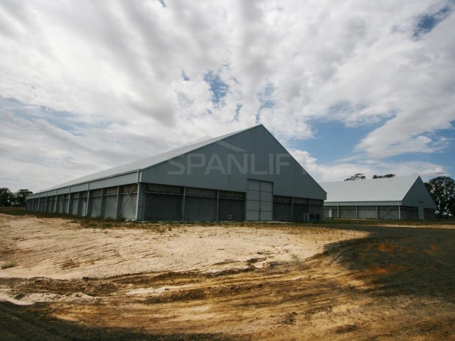 Bulk Storage Grain Shed 6 Spanlift NdZj16