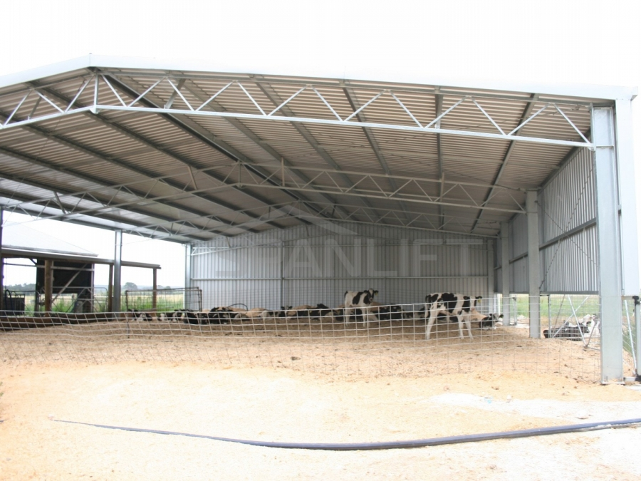 Calf Shed 1 Spanlift aAiKma