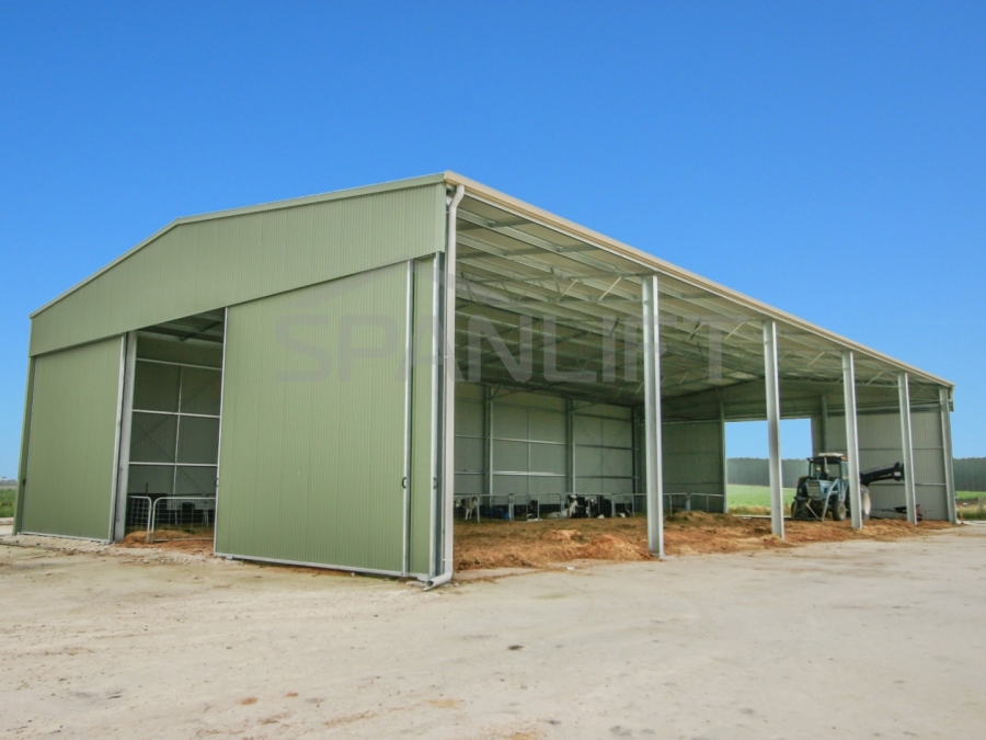 Calf Shed 14 Spanlift bNwNjL