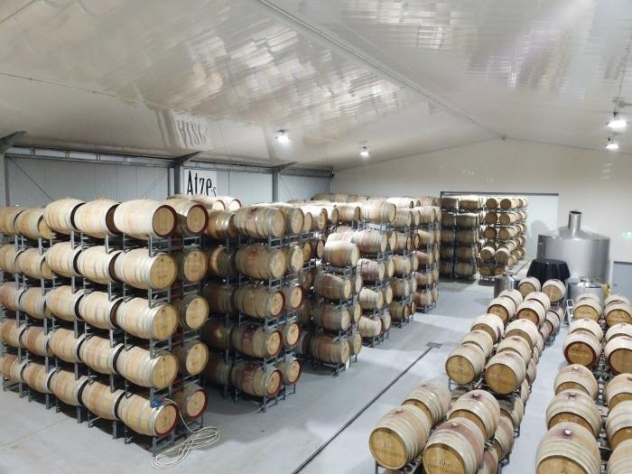 DJI 0030XdGf1F - Winery Buildings