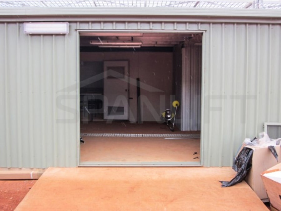 Door Mining Reagents Storage Plant Lab Buildings 4 Spanlift  mG4EH