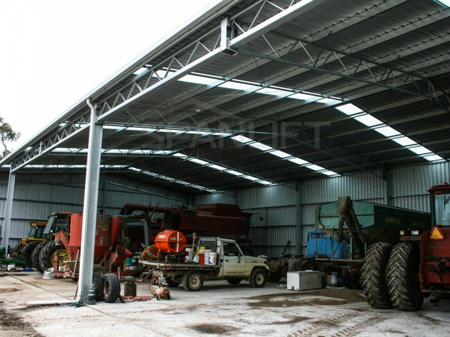 Farm Workshop Shed 1 Spanlift hze44P - Gallery