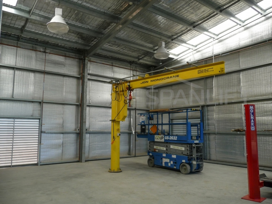 Farm Workshop Shed 20 Spanlift 09q7sk