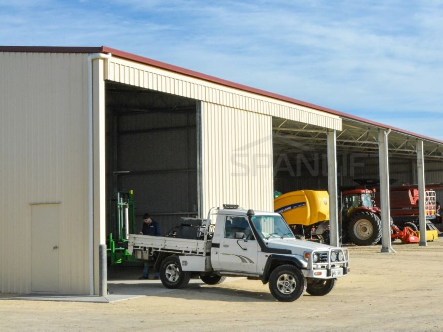 Farm Workshop Shed 6 Spanlift 2i26FR - Gallery