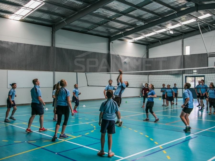 Gym Hall 13 School Spanlift 52 fC4 - School Gym / Hall