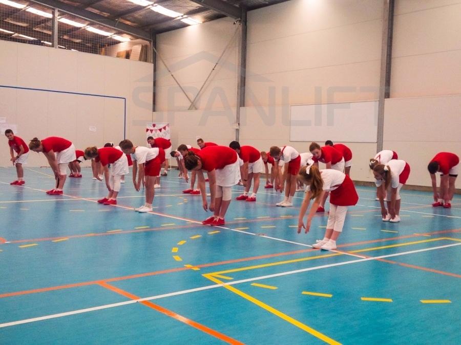 Gym Hall 14 School Spanlift 59W3XG 1 - School Gym / Hall