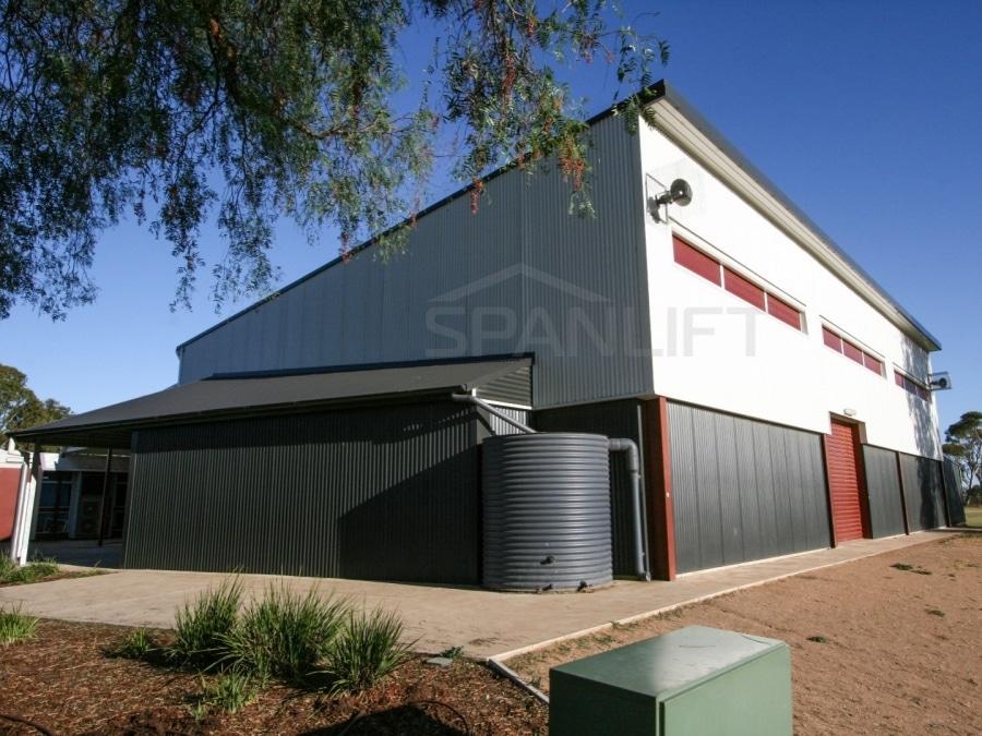 Gym Hall 15 School Spanlift En WCl - School Gym / Hall