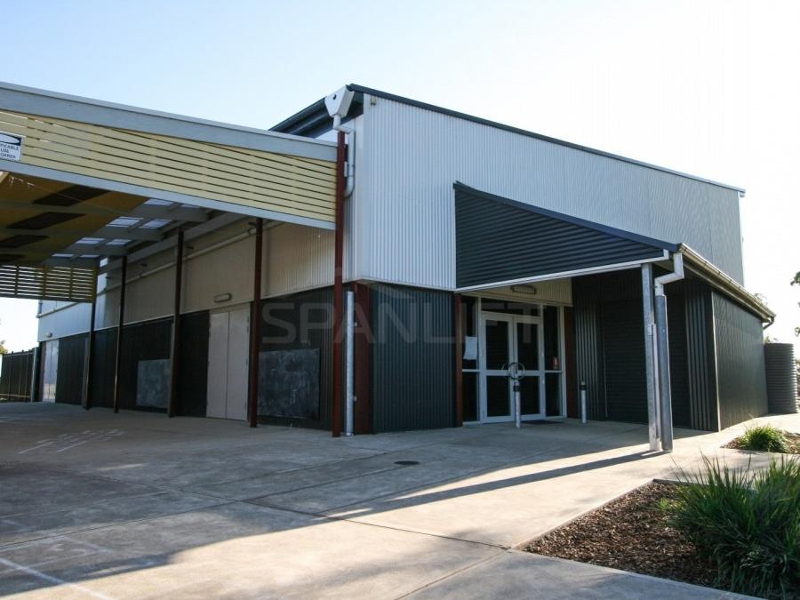 Gym Hall 17 School Spanlift 012BQ2 - School Gym / Hall