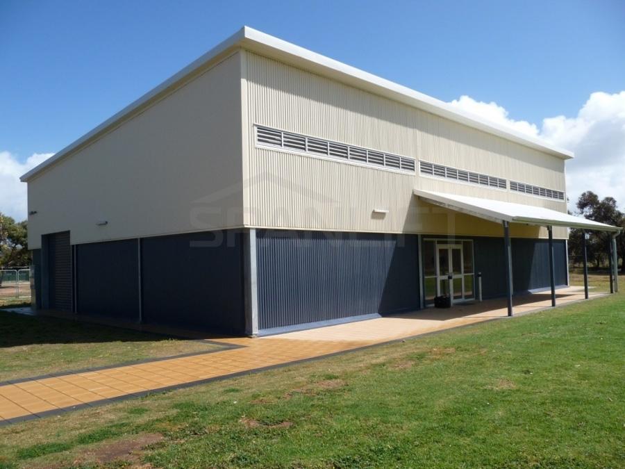 Gym Hall 2 School Spanlift m7YzYF - School Gym / Hall