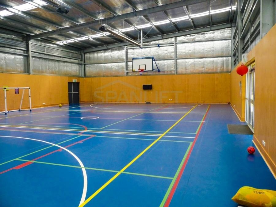 Gym Hall 4 School Spanlift pE3vzP