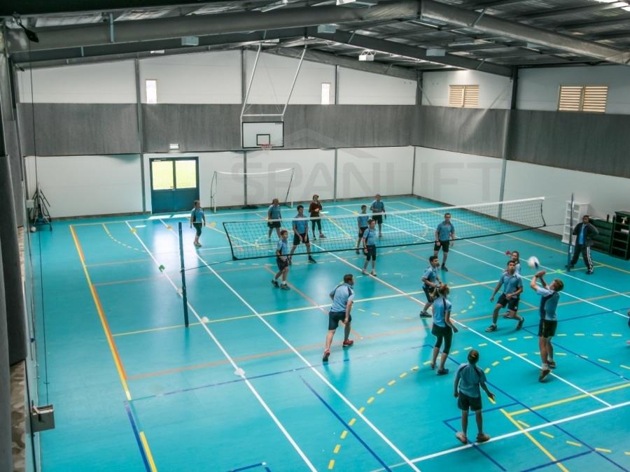 Gym Hall 7 School Spanlift 9hpss2
