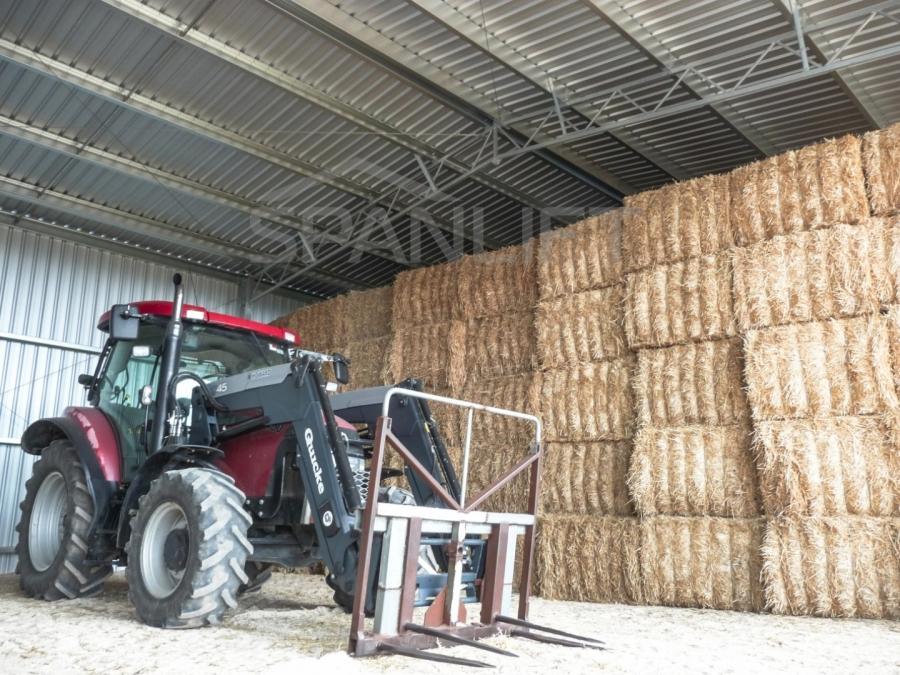 Hay Shed 2 Spanlift 7oR51c - Bulk Storage Sheds