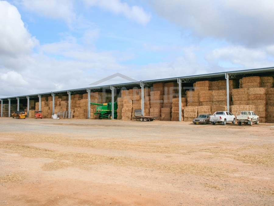 Hay Shed 21 Spanlift 6y2lRM - Bulk Storage Sheds