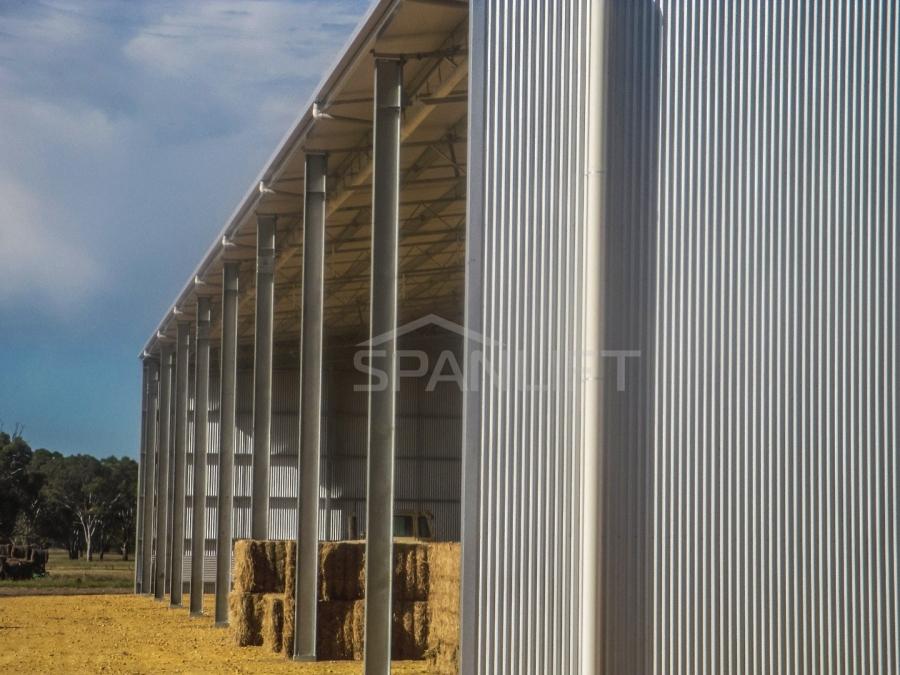 Hay Shed 24 Spanlift m9fgRu - Bulk Storage Sheds