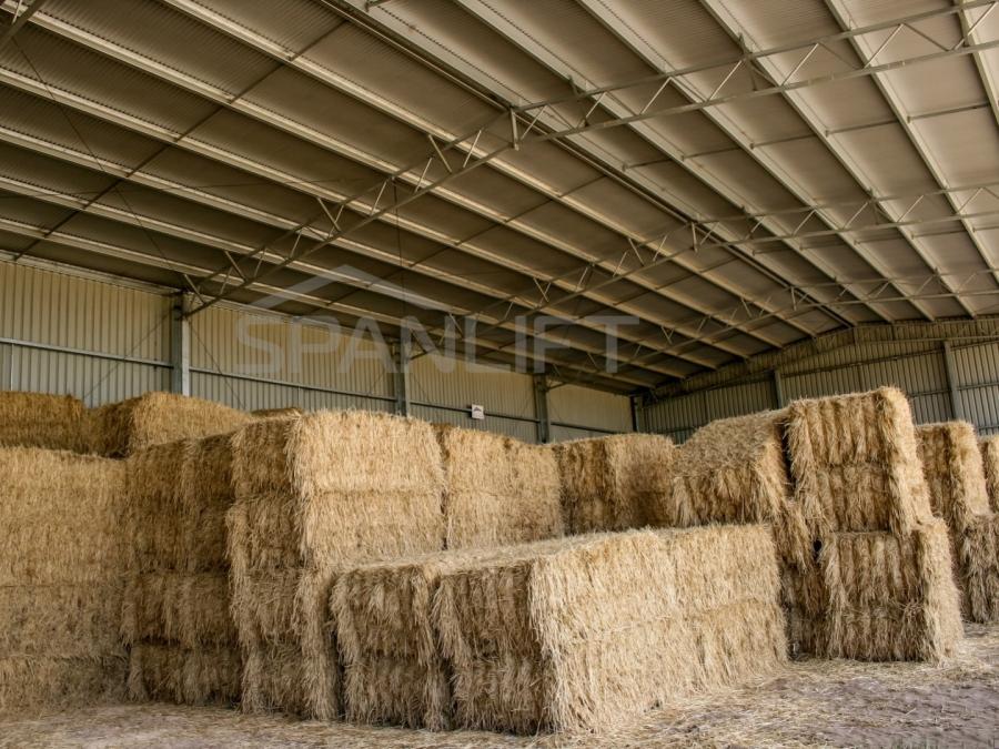 Hay Shed 5 Spanlift CFPY0S