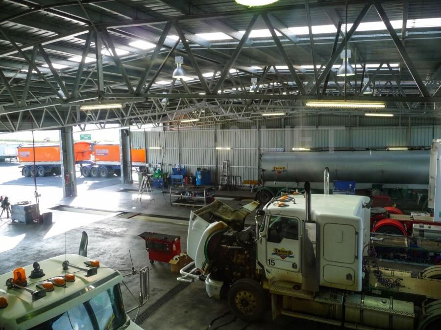 Maintenance Workshops Logistics 11 Spanlift xrr5pp