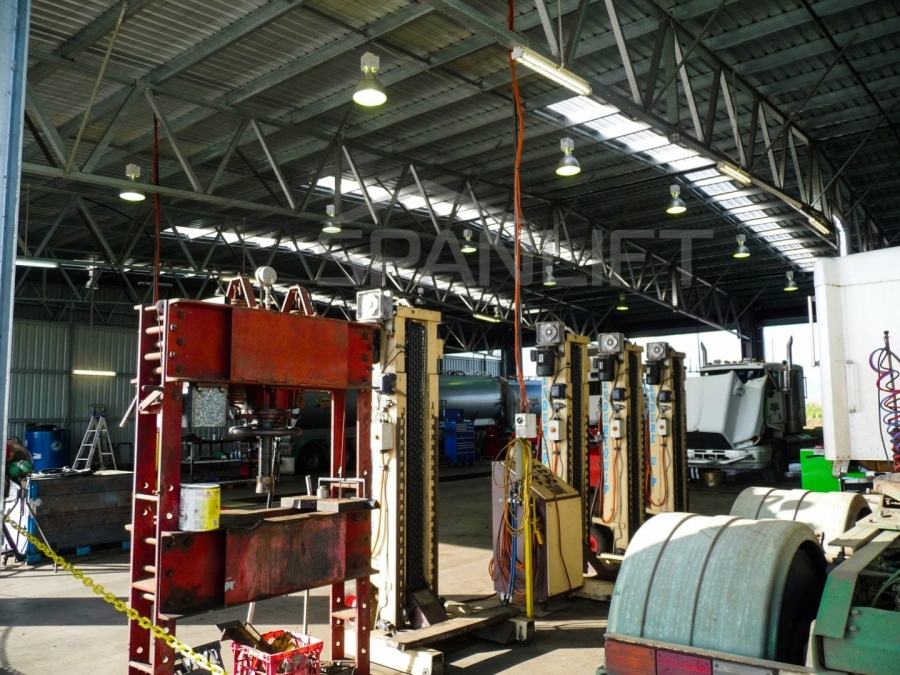 Maintenance Workshops Logistics 13 Spanlift 9e9YZb - Maintenance Workshops