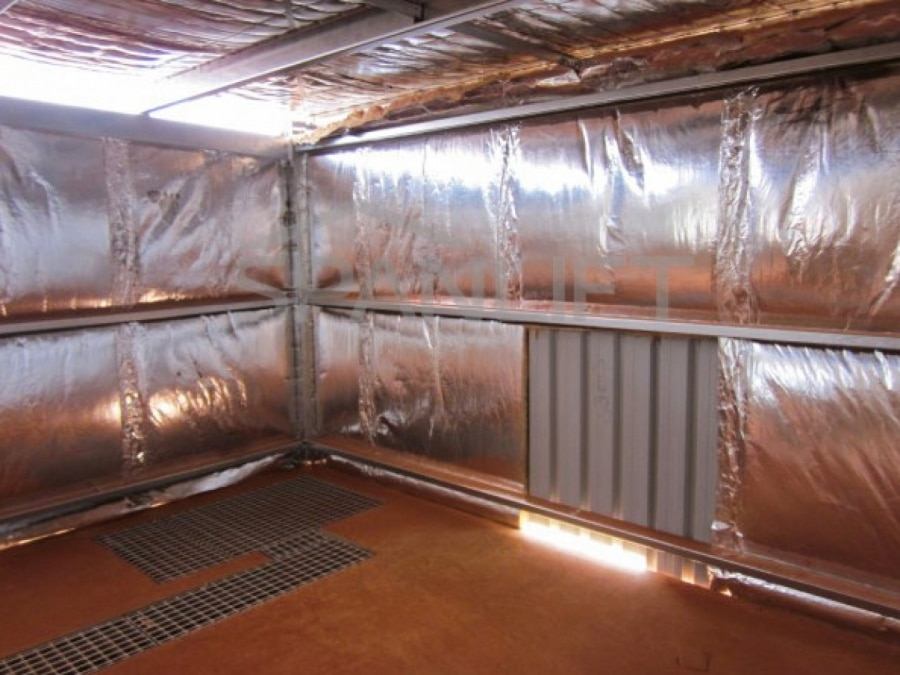 Mining Reagents Storage Plant Lab Buildings 1 Spanlift YC6UhW