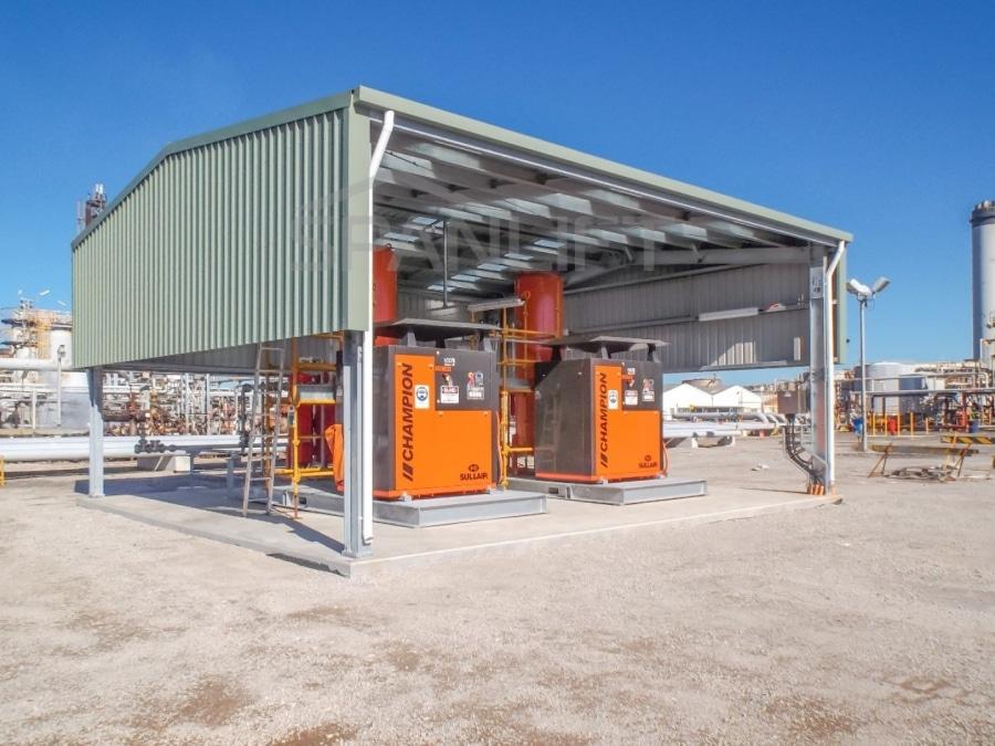 Mining Reagents Storage Plant Lab Buildings 7 Spanlift 6DeKjm