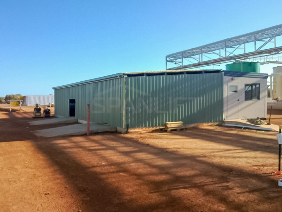 Mining Reagents Storage Plant Lab Buildings 9 Spanlift b FAwO 1