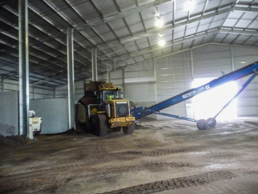 Mixing Shed Bulk Storage 12 Spanlift FvID40