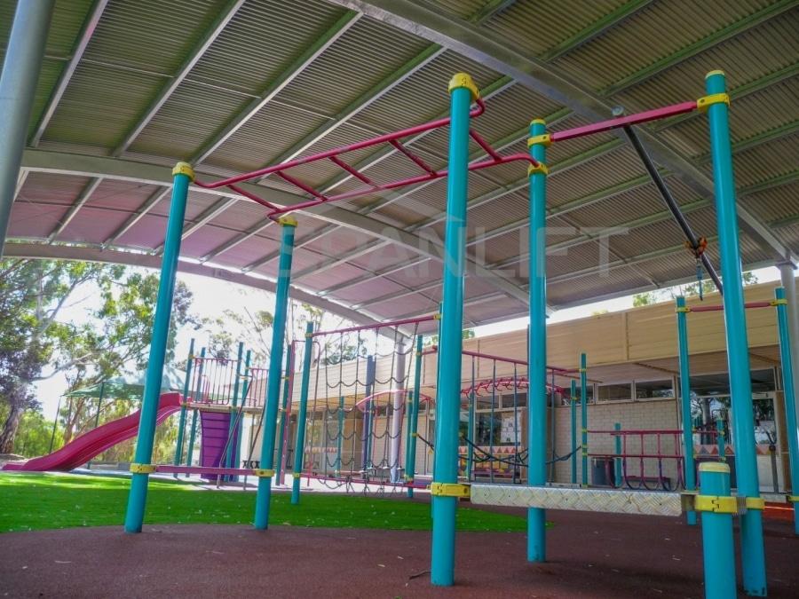 Playground Cover 4 School Spanlift uU2qbz - School Playground Cover