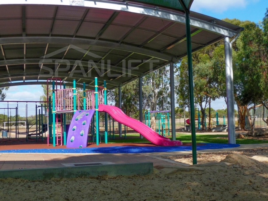 Playground Cover 5 School Spanlift Bn60o5 - School Playground Cover