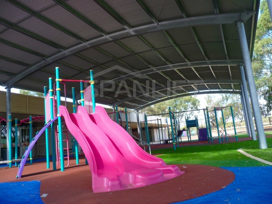 Playground Cover 8 School Spanlift ES01ij - School Playground Cover