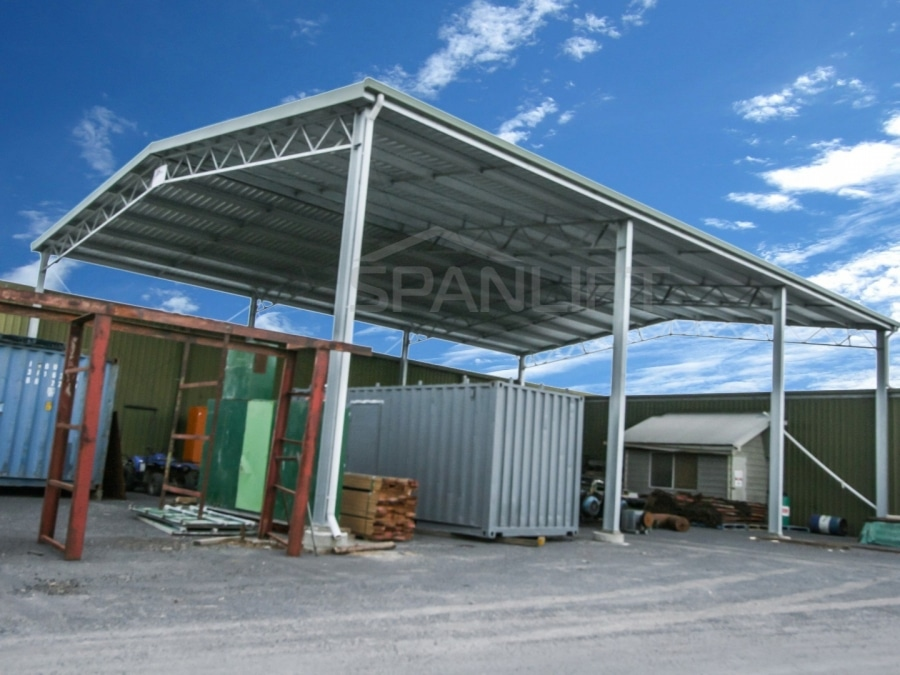 Timber Storage Shed 11 Spanlift SPvJrs