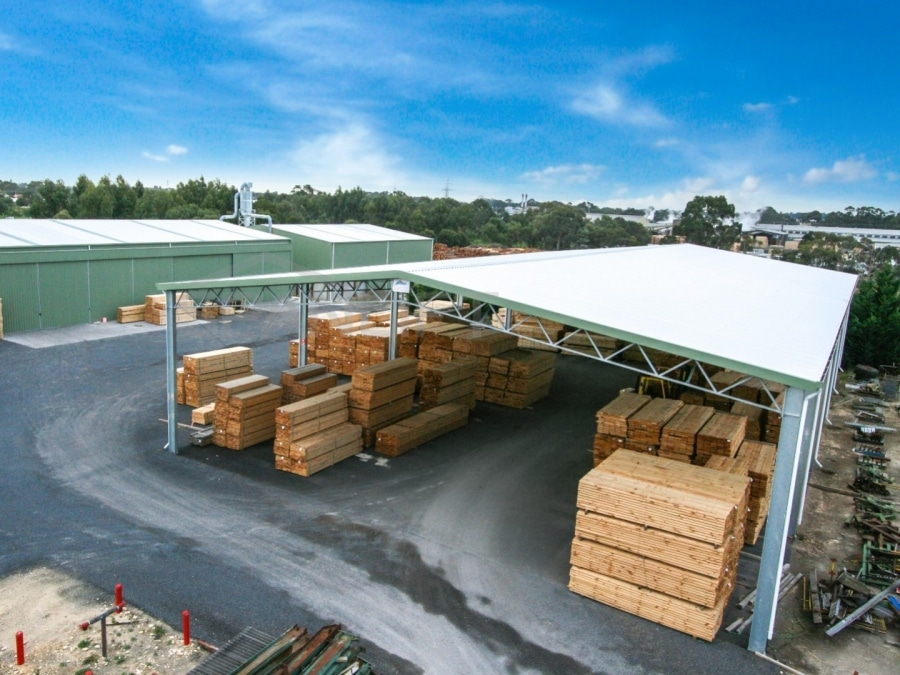 Timber Storage Shed 9 Spanlift  t3EnW