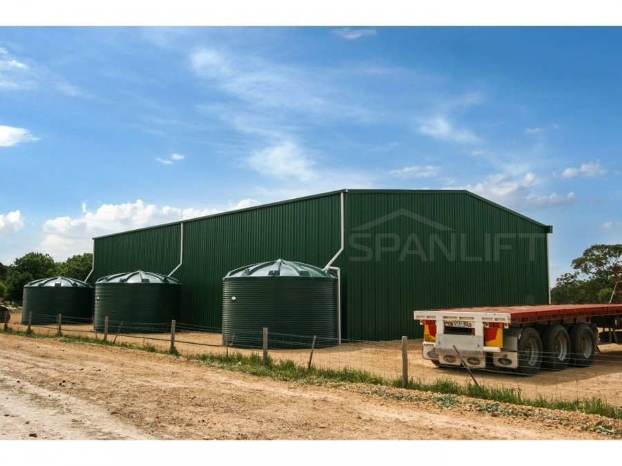 Warehouse Distribution Buildings 5 Spanlift SC3X d - Warehouse / Office