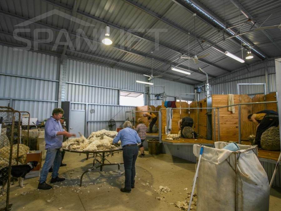 Shearing Shed 31 Spanlift aA4z4t