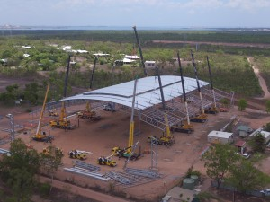 Spanlift Stadium – Final and largest lift