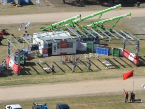 Spanlift exhibiting at Kapunda Farm Fair 2016