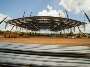 Photos of Stage 2 Lift for Spanlift Stadium