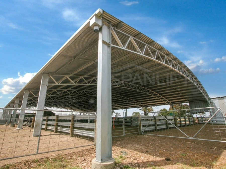 Sheep Yard Cover 4 Spanlift 8zNSS6