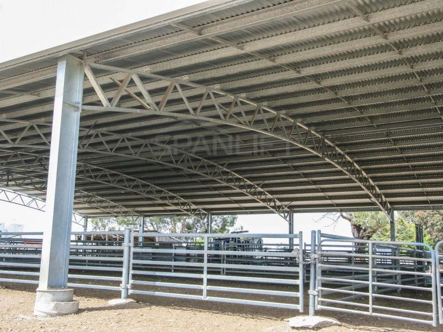 Sheep Yard Cover 5 Spanlift O6f OB - Yard Covers