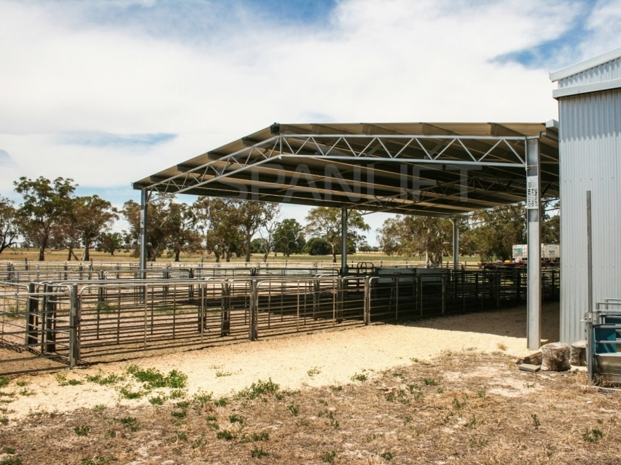Sheep Yard Cover 8 Spanlift 91dQAR - Gallery