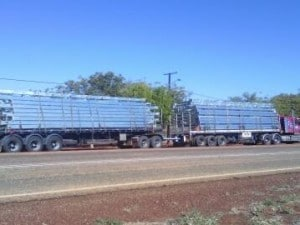 Structrual Steel heading north to Darwin