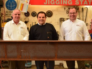 Tony Pasin MP visits Spanlift Australia team