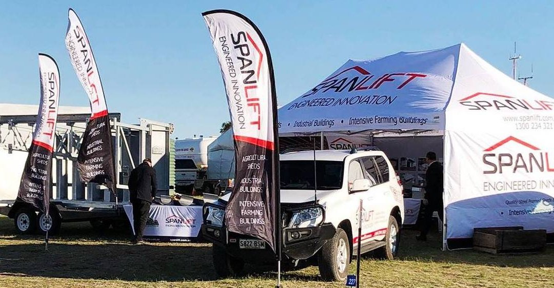 Visit the Spanlift stand at South East Field Days – March 2020!