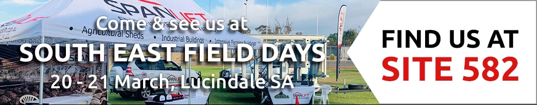 Lucindale Field Day D3 - Visit the Spanlift stand at South East Field Days - March 2020!